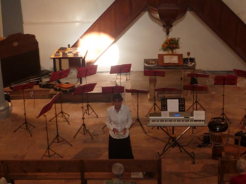 Concert chante palavas à sumène