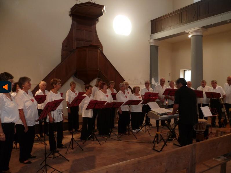 Présentation de la chorale chante palavas