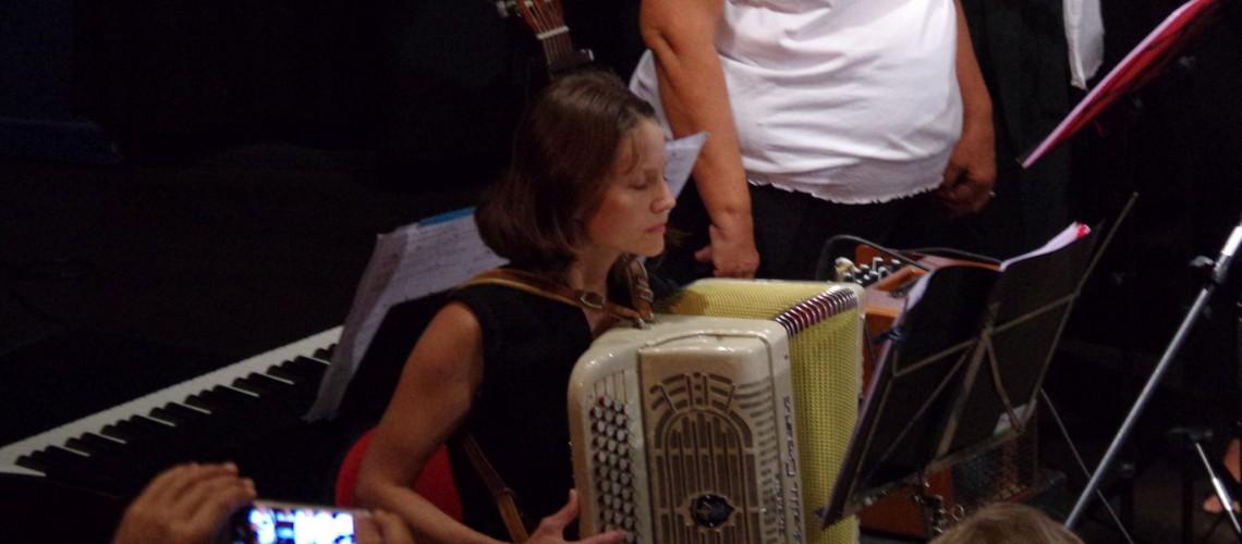 L'accordéoniste , Séverine